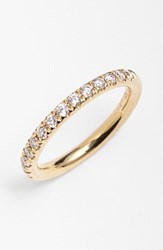 Women's Bony Levy Stackable Diamond Band Ring Yellow Gold Nordstrom Exclusive