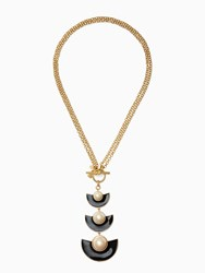 Kate Spade Taking Shapes Toggle Pendant Black