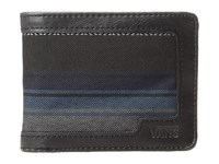 Vans Boyd Bifold Wallet Canyon Stripe Black Wallet Handbags