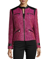 Berek Super Diva Tweed Jacket Pink