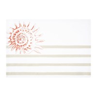 Marinette Saint Tropez Riva Placemat Coral Natural