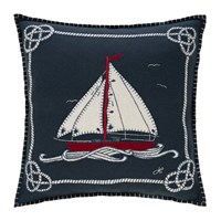 Jan Constantine Seaside Boat And Rope Cushion 46X46cm