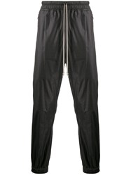 Rick Owens Faux Leather Track Trousers 60