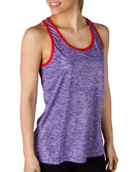 Jockey Fly By Tank Top Iris Bouquet
