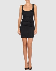 0051 Insight Short Dresses Black