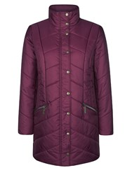 Dash 3 4 Length Quilted Coat Red
