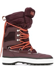 Adidas By Stella Mccartney Winter Boots Red