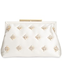 Badgley Mischka Gwendolyn Clutch Ivory