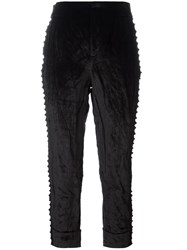 A.F.Vandevorst 'Parent' Cropped Trousers Black
