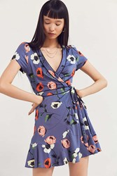 2603f7b0ac6a Kimchi And Blue Rita Wrap Dress Blue Multi