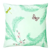 Yves Delorme Evasion Cushion Cover Menthe 45X45cm