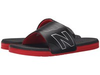 New Balance Pro Slide Black Red Men's Sandals