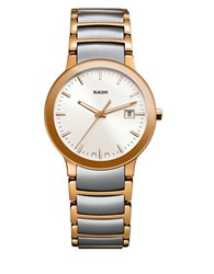 Rado Analog Centrix Jubile Two Tone Link Bracelet Watch R30932103