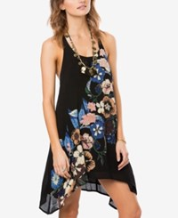 O'neill Juniors' Brenna Printed Shift Dress A Macy's Exclusive Black