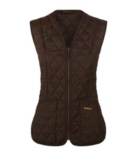 Barbour Quilted Gilet Female Brown