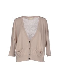 Alysi Knitwear Cardigans Women Dove Grey