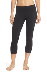 Women's Zella 'Keep It Cool' Crop Leggings Black