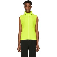 Homme Plisse Issey Miyake Yellow Mc March Vest