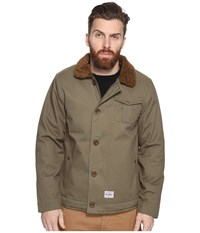 Benny Gold Pilot Deck Coat Army Green Men's Coat