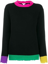 Avant Toi Colour Block Sweater 60