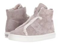 Kennel And Schmenger Suede High Top Grey Suede
