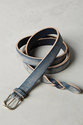 Anthropologie The Blues Leather Belt