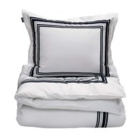 Gant Frame Duvet Cover Sateen Blue White