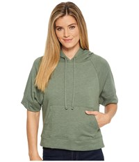 Prana Palmetto Hoodie Forest Green Clothing