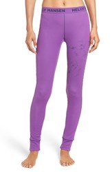 Helly Hansen Women's Flow Leggings Sunburned Purple