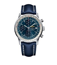 Breitling Navitimer Heritage Automatic Chronograph Watch 42Mm Blue