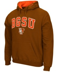 Colosseum Men's Bowling Green Falcons Arch Logo Hoodie Brown