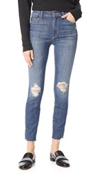 Mother The Vamp Fray Skinny Jeans Crazy Like A Fox