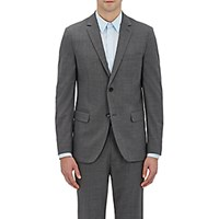 Theory Men's Wellar Hc Two Button Sportcoat Dark Grey Grey Dark Grey Grey