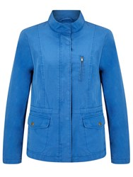 John Lewis Collection Weekend By Utility Jacket Mid Blue