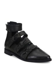 Ld Tuttle The Snow Grip Tape Leather Booties Black