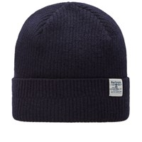 Barbour Lambswool Beanie Blue