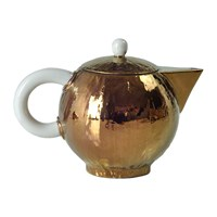 Villari Capri Coffee Pot Bronze
