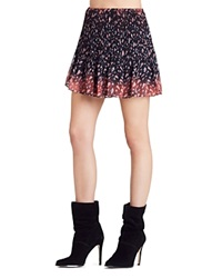 Bcbgeneration Pleated Floral Print Mini Skirt