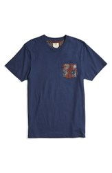 Vans Men's Floral Pocket T Shirt
