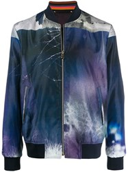 Paul Smith All Over Print Bomber Jacket 60