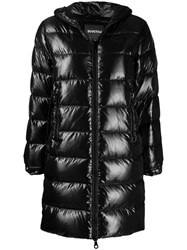 Duvetica Hooded Padded Coat Black