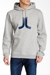 Wesc Icon Hooded Sweater Gray
