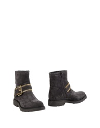 Giancarlo Paoli Ankle Boots Lead