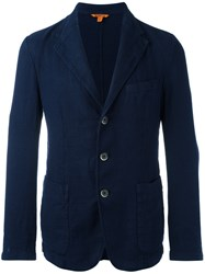 Barena Patch Pockets Blazer Blue