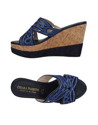 Chiara Pasquini Sandals Dark Blue