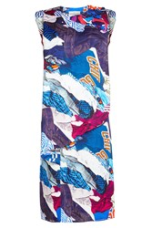 Maison Martin Margiela Printed Dress Multicolored