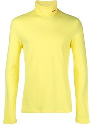Calvin Klein 205W39nyc Jersey Sweater Yellow And Orange