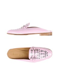 Lemare Mules Light Pink