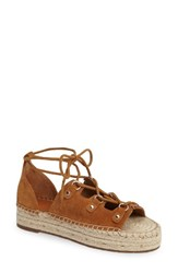 Marc Fisher Women's Ltd Vally Lace Up Platform Espadrille
