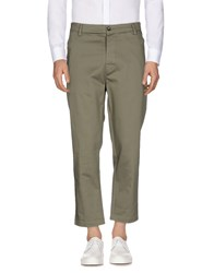 L W Brand Trousers Casual Trousers Military Green